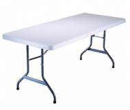 Adult Folding Table 6ft Rectangular