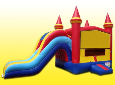 Modular Castle Jump & Slide