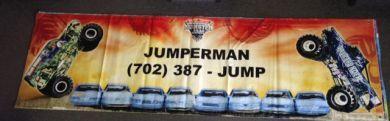 Monster Truck Banner