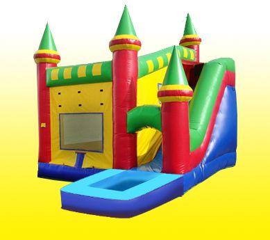 Castle 6/1 Water Slide