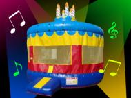 Round Disco Cake