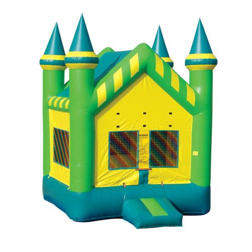 13x13 Yellow & Green Castle
