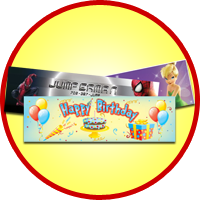 Bouncy House Banners